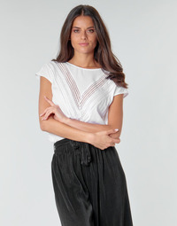 Textil Mulher Tops / Blusas Guess SS MALIKA TOP Branco
