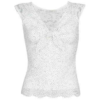 Textil Mulher Tops / Blusas Guess GIUNONE TOP Branco