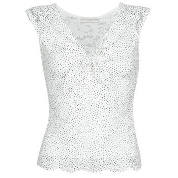 Textil Mulher Tops / Blusas Guess GIUNONE TOP Branco