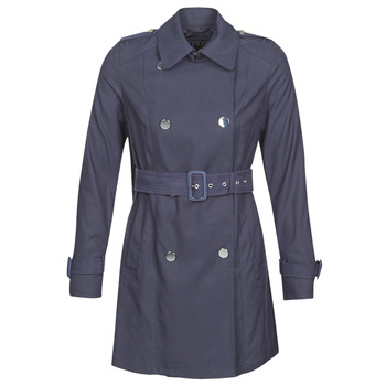 Textil Mulher Trench Guess CECILIA TRENCH Marinho