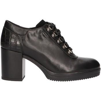 Sapatos Mulher Botas baixas Geox D84AVB 02243 D REMIGIA Negro