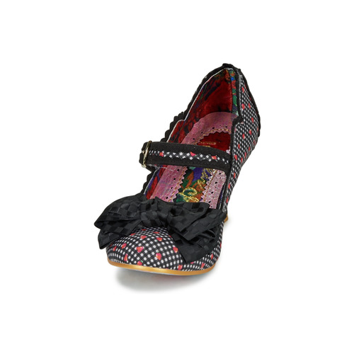 Summer Breeze Irregular Choice Escarpim Mulher Preto