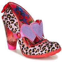 Sapatos Mulher Escarpim Irregular Choice LOCKHART Vermelho