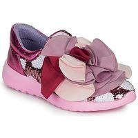 Sapatos Mulher Sapatilhas Irregular Choice RAGTIME RUFFLES Rosa