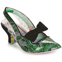 Sapatos Mulher Escarpim Irregular Choice PARADOX Verde / Preto