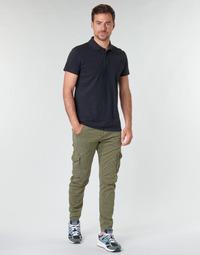 Textil Homem Calça com bolsos Le Temps des Cerises ALBAN Cáqui