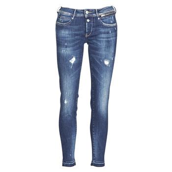 Textil Mulher Calças de ganga slim Le Temps des Cerises PULP SLIM 7/8 Azul