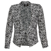 Textil Mulher Casacos/Blazers Le Temps des Cerises OPAL Preto