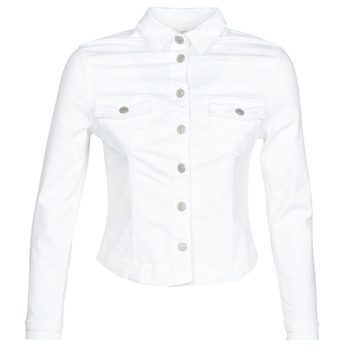 Textil Mulher casacos de ganga Le Temps des Cerises LILLY Branco