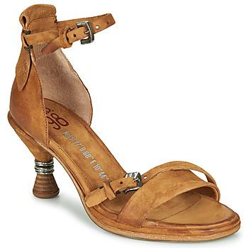 Sapatos Mulher Sandálias Airstep / A.S.98 SOUND Camel