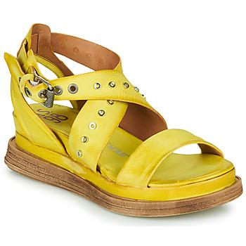 Sapatos Mulher Sandálias Airstep / A.S.98 LAGOS 2 Amarelo