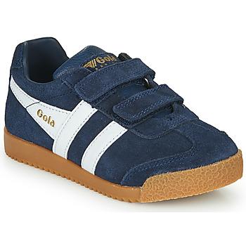Sapatos Criança Sapatilhas Gola HARRIER VELCRO Marinho