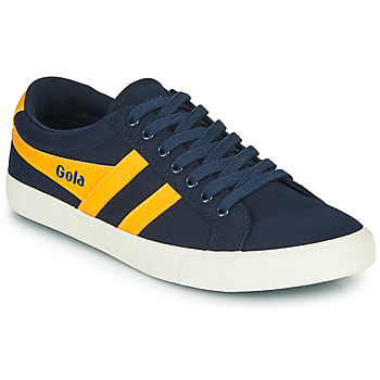 Sapatos Homem Sapatilhas Gola VARSITY Marinho / Amarelo