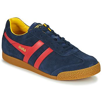 Sapatos Homem Sapatilhas Gola HARRIER Marinho / Vermelho