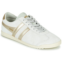 Sapatos Mulher Sapatilhas Gola BULLET PEARL Branco / Ouro