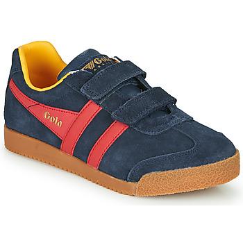 Sapatos Criança Sapatilhas Gola HARRIER VELCRO Azul / Vermelho