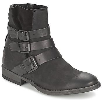 Sapatos Mulher Botas baixas Bullboxer AXIMO Preto