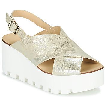 Sapatos Mulher Sandálias Sweet Lemon SUAX Ouro