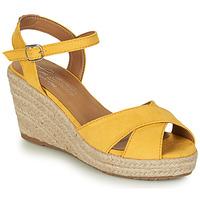 Sapatos Mulher Sandálias Tom Tailor 8090105 Amarelo
