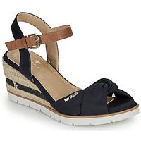 Sapatos Mulher Sandálias Tom Tailor  Marinho