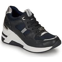 Sapatos Mulher Sapatilhas Tom Tailor 8091512 Marinho / Preto