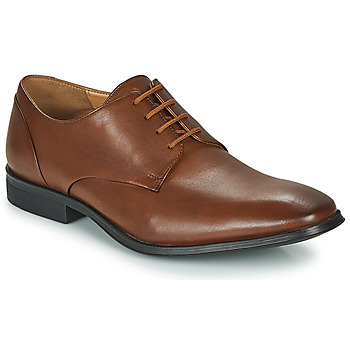 Sapatos Homem Sapatos Clarks GILMAN PLAIN Castanho