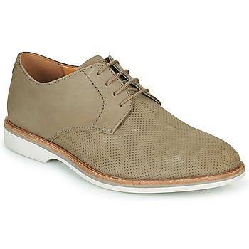 Sapatos Homem Sapatos Clarks ATTICUS LACE Bege