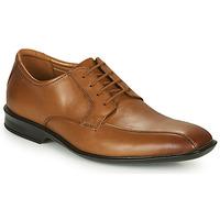 Sapatos Homem Sapatos Clarks BENSLEY RUN Castanho