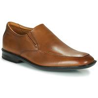 Sapatos Homem Sapatos Clarks BENSLEY STEP Castanho