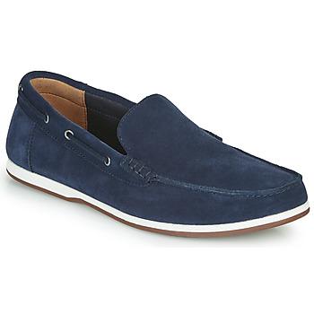 Sapatos Homem Sapato de vela Clarks MORVEN SUN Marinho