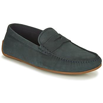 Sapatos Homem Mocassins Clarks REAZOR PENNY Marinho