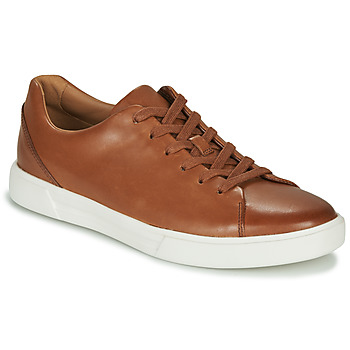 Sapatos Homem Sapatilhas Clarks UN COSTA LACE Castanho