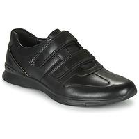 Sapatos Homem Sapatilhas Clarks UN TYNAMO TURN Preto