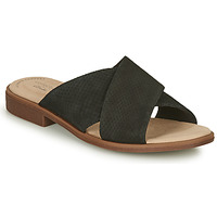 Sapatos Mulher Chinelos Clarks DECLAN IVY Preto