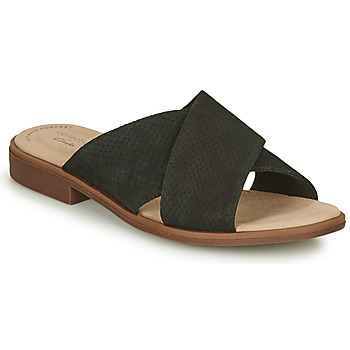 Sapatos Mulher Chinelos Clarks DECLAN IVY Preto