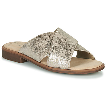 Sapatos Mulher Chinelos Clarks DECLAN IVY Prata