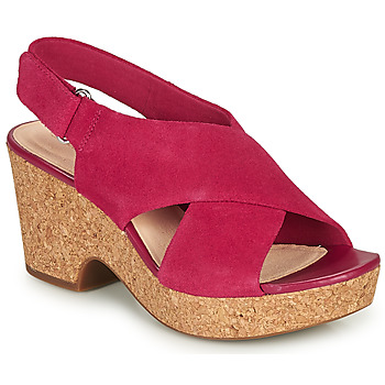 Sapatos Mulher Sandálias Clarks MARITSA LARA Rosa