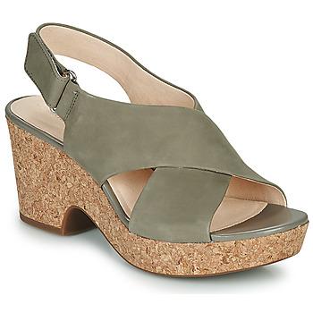 Sapatos Mulher Sandálias Clarks MARITSA LARA Toupeira