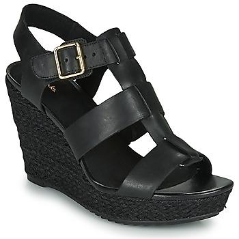 Sapatos Mulher Sandálias Clarks MARITSA95 GLAD Preto
