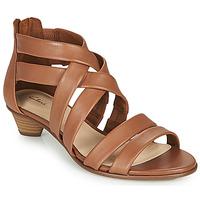 Sapatos Mulher Sandálias Clarks MENA SILK Camel