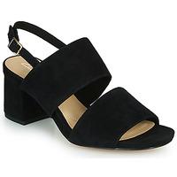 Sapatos Mulher Sandálias Clarks SHEER55 SLING Preto