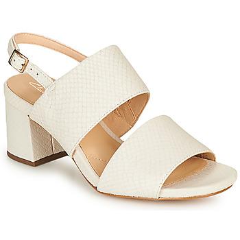 Sapatos Mulher Sandálias Clarks SHEER55 SLING Branco