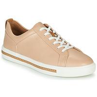 Sapatos Mulher Sapatilhas Clarks UN MAUI LACE Rosa