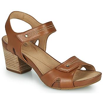 Sapatos Mulher Sandálias Clarks UN PALMA VIBE Camel