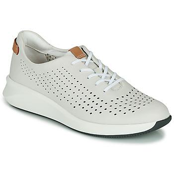 Sapatos Mulher Sapatilhas Clarks UN RIO TIE Branco