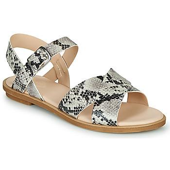 Sapatos Mulher Sandálias Clarks WILLOW GILD Cinza