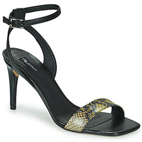 Sapatos Mulher Sandálias Tosca Blu LA-DIGUE Preto / Amarelo