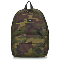 Malas Mochila Vans OLD SKOOL III BACKPACK Preto / Cáqui