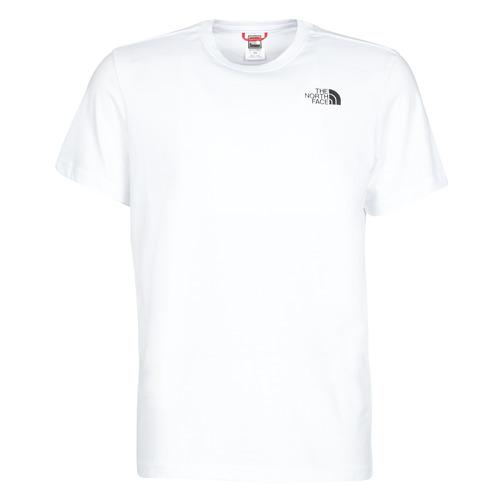 Textil Homem T-Shirt mangas curtas The North Face S/S REDBOX Branco