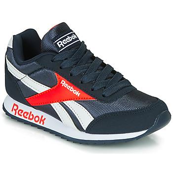 Sapatos Rapaz Sapatilhas Reebok Classic REEBOK ROYAL CLJOG Marinho / Vermelho